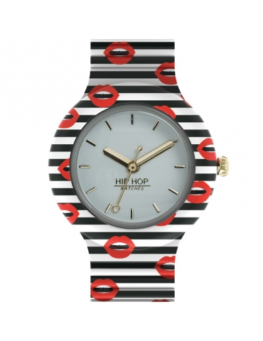 Orologio Hip Hop Donna Red Kiss
