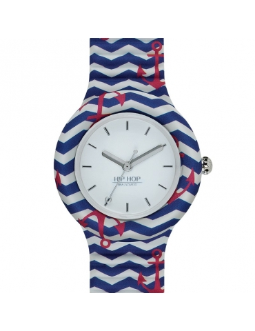 Orologio Hip Hop Donna Red Anchor