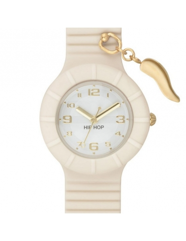 Orologio Hip Hop Donna Whisper White (Horn)