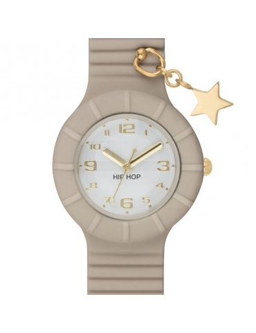 Orologio Hip Hop Donna Colonial Beige (Star)