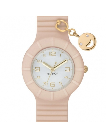 Orologio Hip Hop Donna Mother of Pearl (Smile)