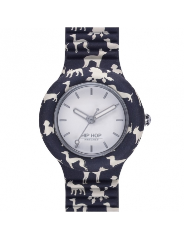 Orologio Hip Hop Donna Blue Dog