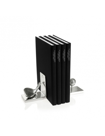 Fermalibro Spalding & Bros Golf Alluminio
