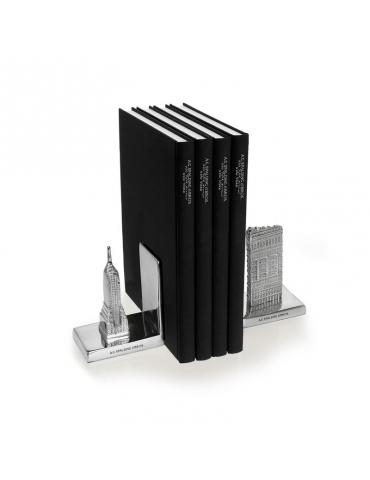 Fermalibro Spalding & Bros Flatiron/Empire Alluminio