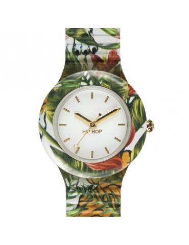 Orologio Hip Hop Donna Tiger Jungle
