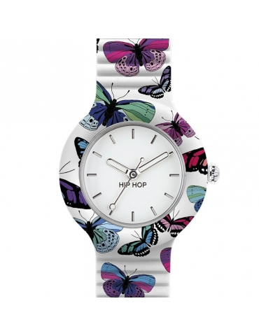 Orologio Hip Hop Donna Butterfly