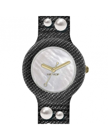 Orologio Hip Hop Donna Pearls Deep Blue Jeans