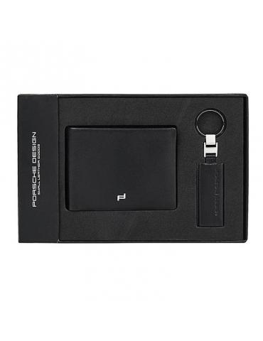 Gift Set Porsche Design Touch Portafoglio/Portachiavi