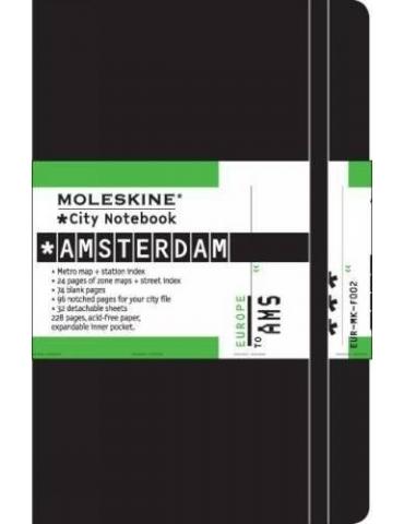 Taccuino Moleskine City Notebook Amsterdam Pocket 9x14