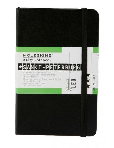 Taccuino Moleskine City Notebook San Pietroburgo Pocket 9x14
