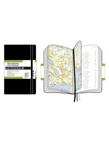 Taccuino Moleskine City Notebook Stoccolma Pocket 9x14