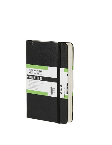 Taccuino Moleskine City Notebook Berlino Pocket 9x14