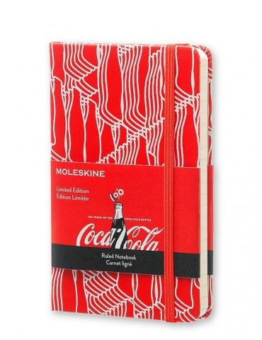 Taccuino Moleskine Limited Edition Coca-Cola Pocket 9x14 Righe