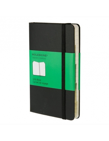 Taccuino Moleskine Legendary Edition Info Book Pocket 9x14 Righe