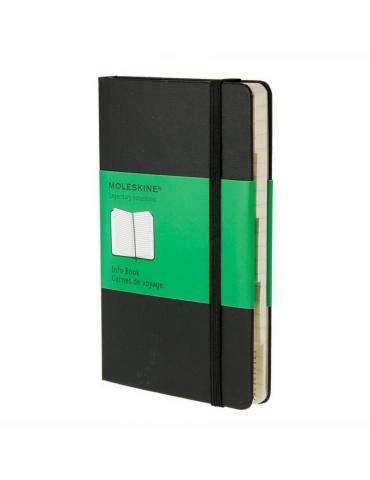 Taccuino Moleskine Legendary Edition Info Book Pocket 9x14 Righe