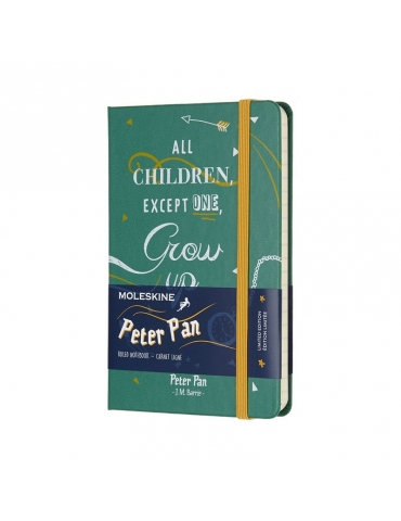 Taccuino Moleskine Limited Edition Peter Pan Pocket 9x14 Righe