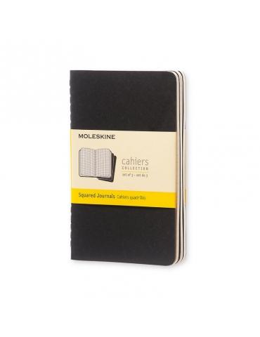Quaderno Moleskine Cahiers Pocket 9x14 Quadretti