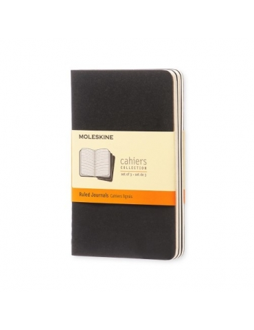 Quaderno Moleskine Cahiers Pocket 9x14 Righe