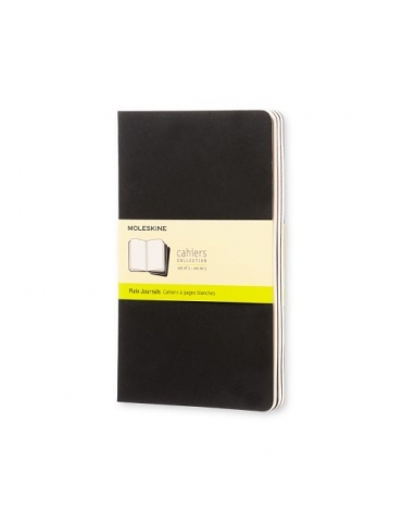 Quaderno Moleskine Cahiers Large 13x21 Pagine Bianche