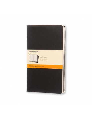 Quaderno Moleskine Cahiers Large 13x21 Righe