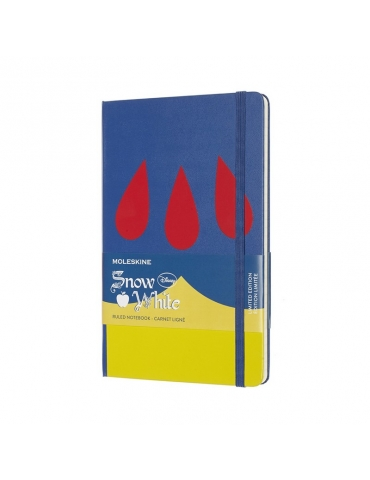 Taccuino Moleskine Limited Edition Biancaneve Large 13x21 Righe