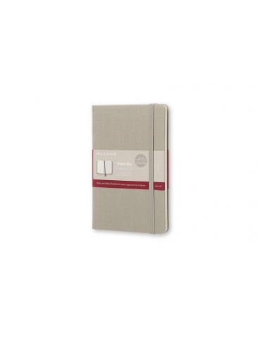 Taccuino Moleskine Two-Go Medium 11,5x18 Cover Tela