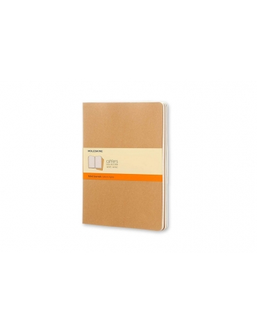Quaderno Moleskine Cahiers XL 19x25 Righe