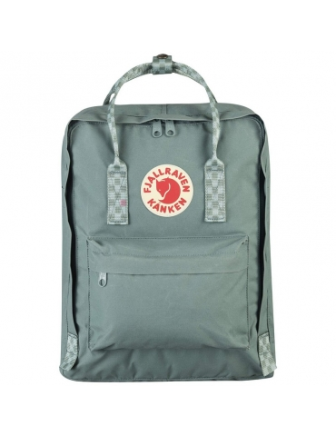 Zaino Fjallraven Kanken Frost Green - Chess Pattern