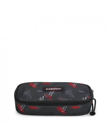 Astuccio Eastpak Oval Scribble Black
