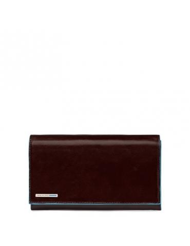 Portafoglio Piquadro donna con patta Blue Square PD1855B2 - Mega 1941