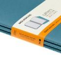 Quaderno Moleskine Cahiers Large 13x21 Righe Blu