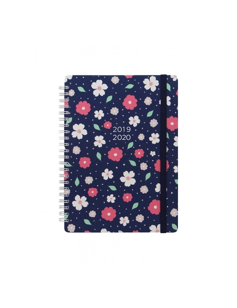 Agenda Letts of London 2019-2020 Floral A6 Giornaliera