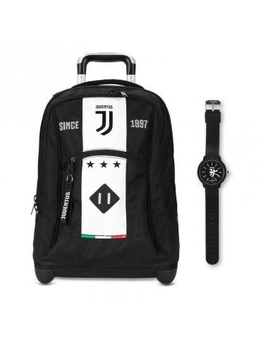 Zaino Trolley Seven Juventus FC League Jet (Orologio in Omaggio)