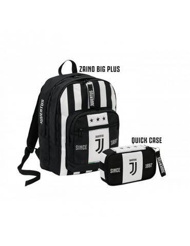 Schoolpack Seven Juventus League Zaino + Astuccio Quick Case