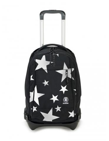 Zaino Trolley Invicta Plug Plus Logo Star Black
