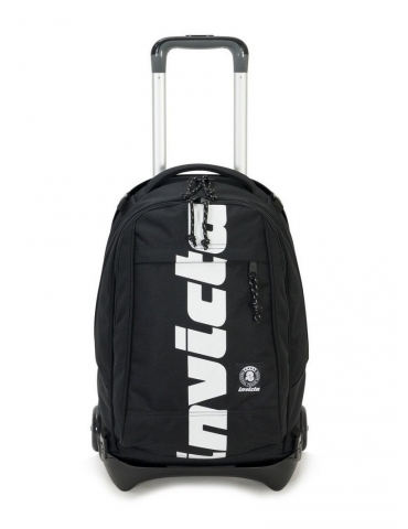 Zaino Trolley Invicta Plug Plus Logo Jet Black