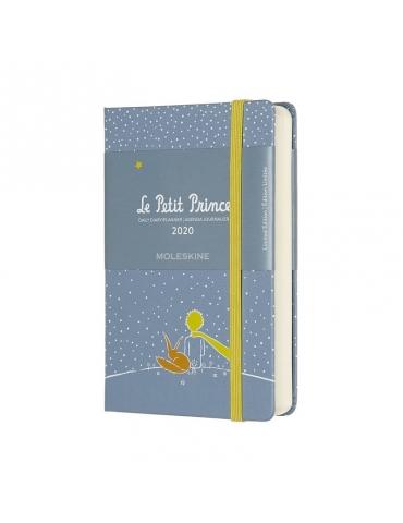 Agenda Moleskine 2020 Giornaliera 12 Mesi Edizione Limitata Piccolo Principe Pocket 9x14 - Copertina Rigida - Volpe