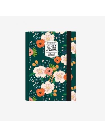 Agenda Legami 2019-2020 16 Mesi Giornaliera Small - Flowers
