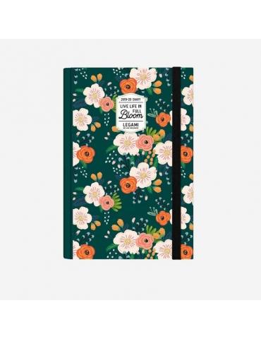 Agenda Legami 2019-2020 16 Mesi Giornaliera Medium - Flowers