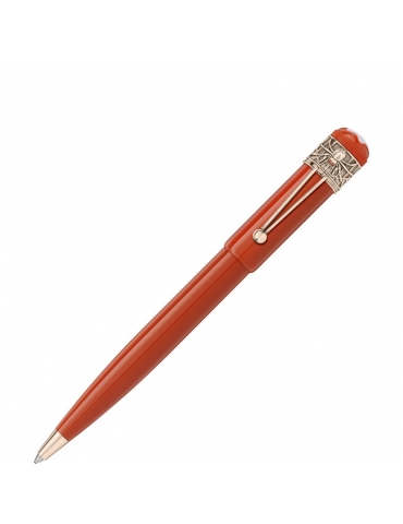 Penna Sfera Montblanc Heritage Rouge et Noir Spider Special Edition