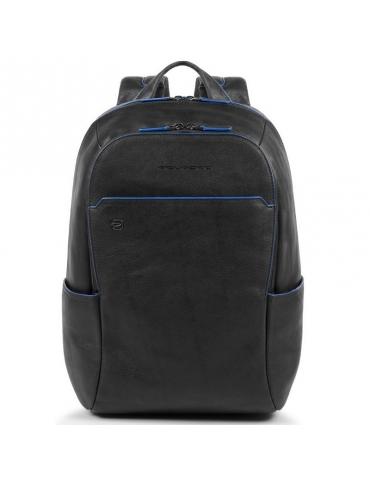 """Zainetto Piquadro Blue Square PC/iPad®10,5""""/iPad 9,7"""" Nero"""