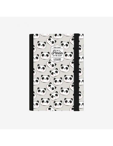 Agenda Legami 2020 12 Mesi Giornaliera Small - Panda