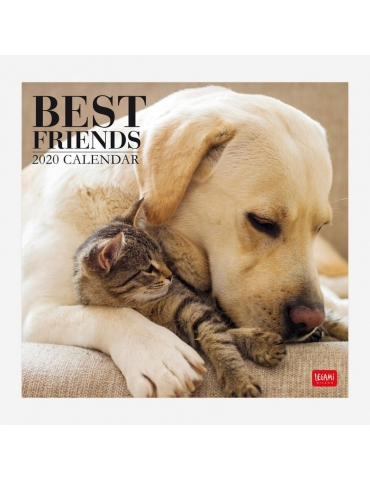 Calendario da Parete Legami 2020 30x29 - Best Friends