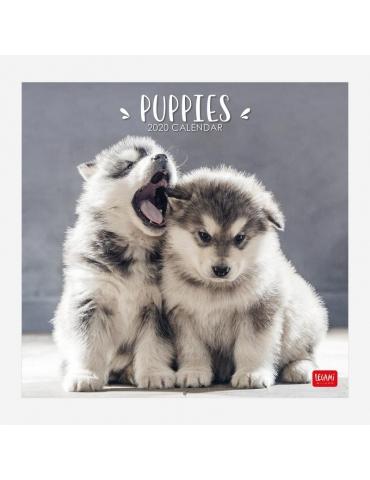Calendario da Parete Legami 2020 30x29 - Puppies