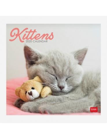 Calendario da Parete Legami 2020 30x29 - Kittens