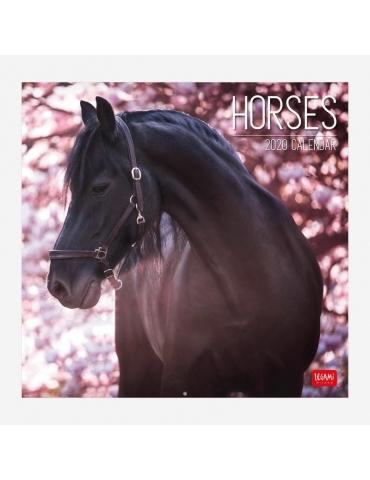 Calendario da Parete Legami 2020 30x29 - Horses