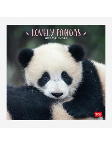 Calendario da Parete Legami 2020 30x29 - Lovely Pandas