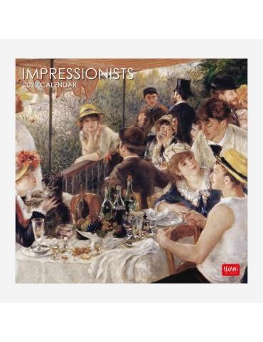 Calendario da Parete Legami 2020 30x29 - Impressionist