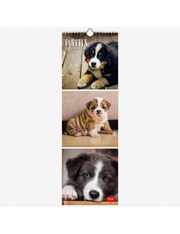 Calendario da Parete Legami 2020 16x49 - Puppies
