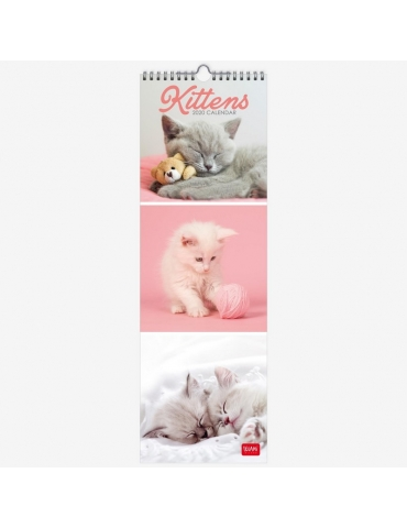 Calendario da Parete Legami 2020 16x49 - Kittens